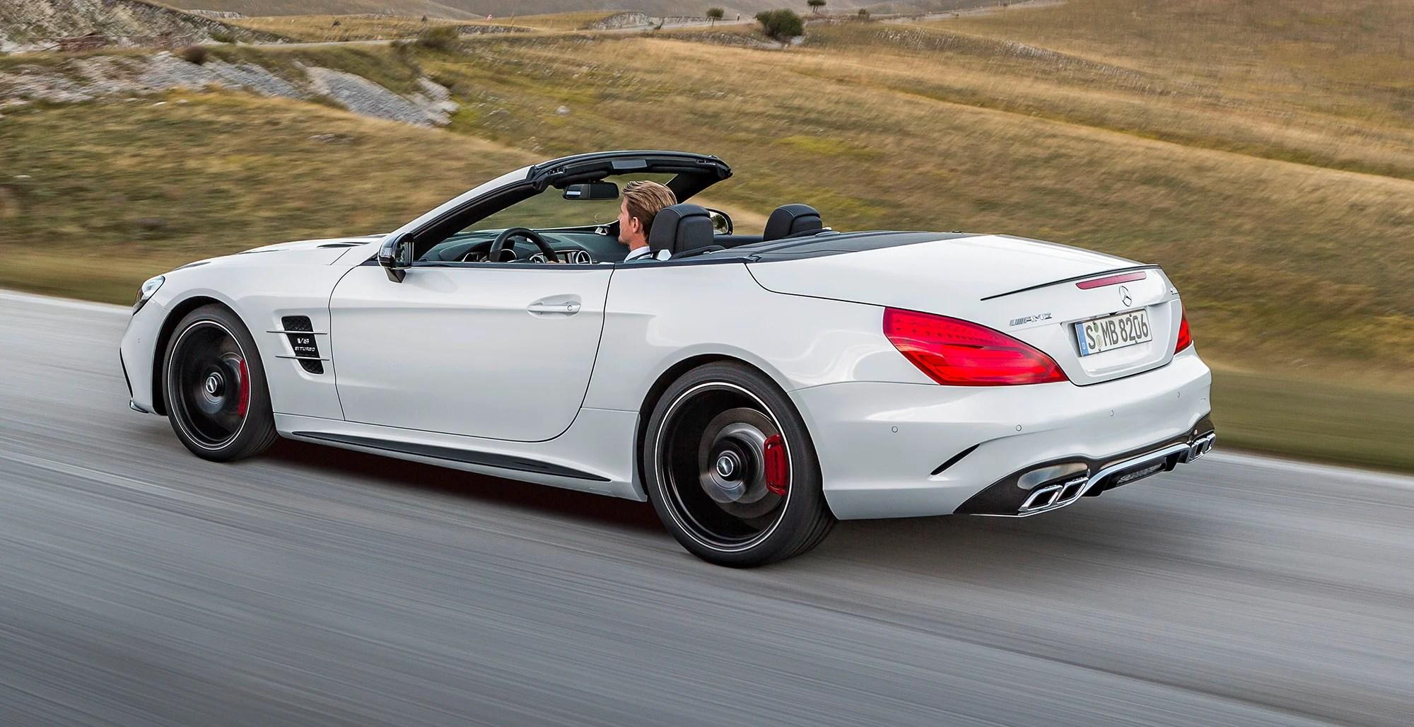 2016 Mercedes Benz Sl Revealed Photos Caradvice