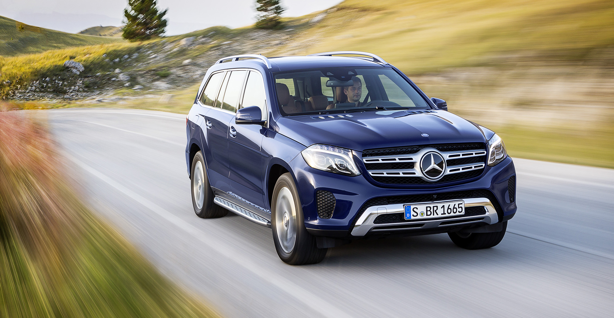 2016 Mercedes Benz GLS Revealed Big GL Gets New Name New