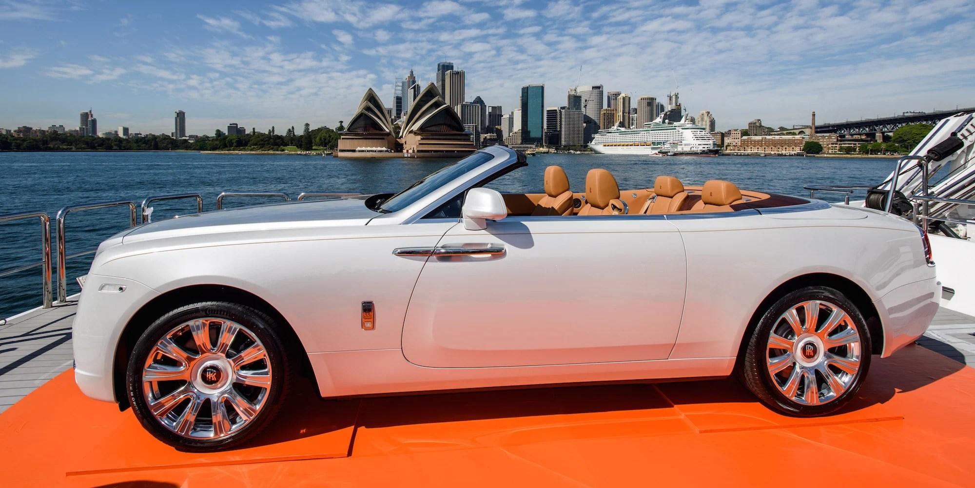 all new camry australia grand avanza pakai premium rolls-royce dawn debuts in with $749,000 price ...