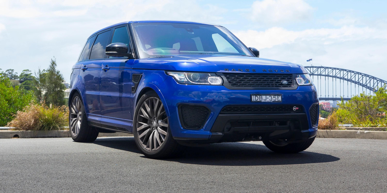 2016 Range Rover Sport SVR Review