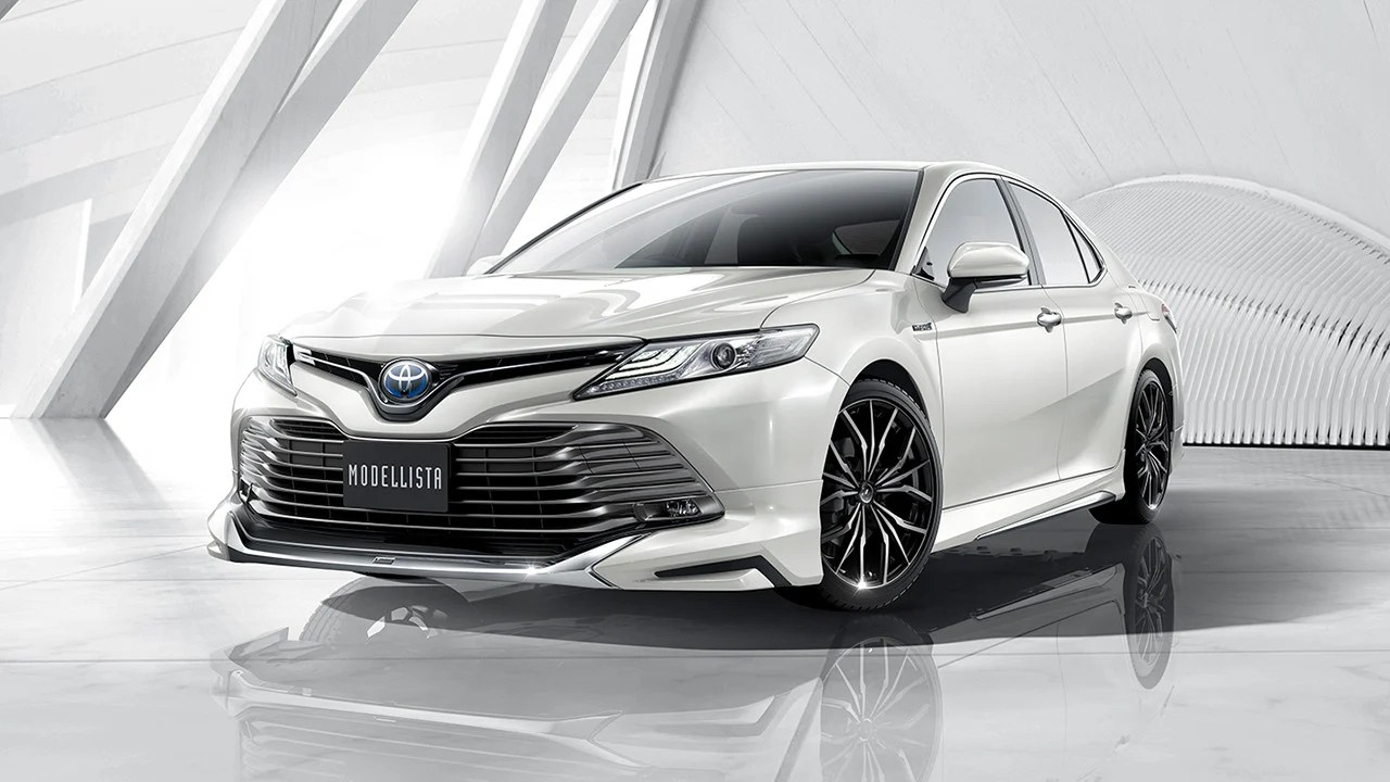 all new camry 2018 thailand body kit yaris trd sportivo toyota unveiled with and modellista ...