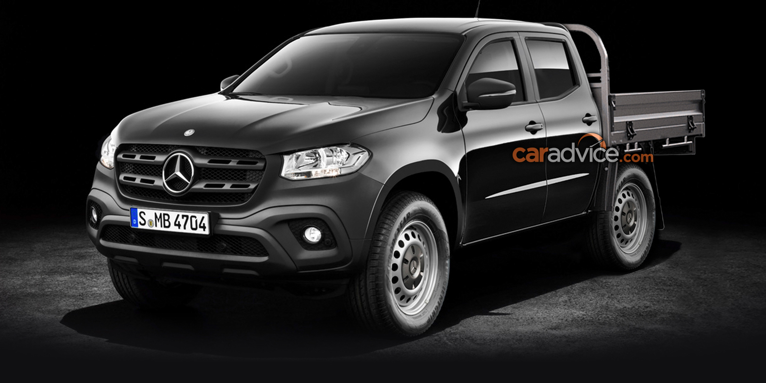 2018 Mercedes Benz X Class Cab Chassis Confirmed Photos