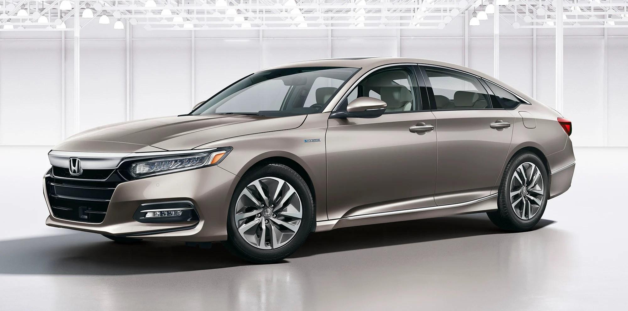 2018 Honda Accord Revealed 10th Gen Sedan Brings Turbo