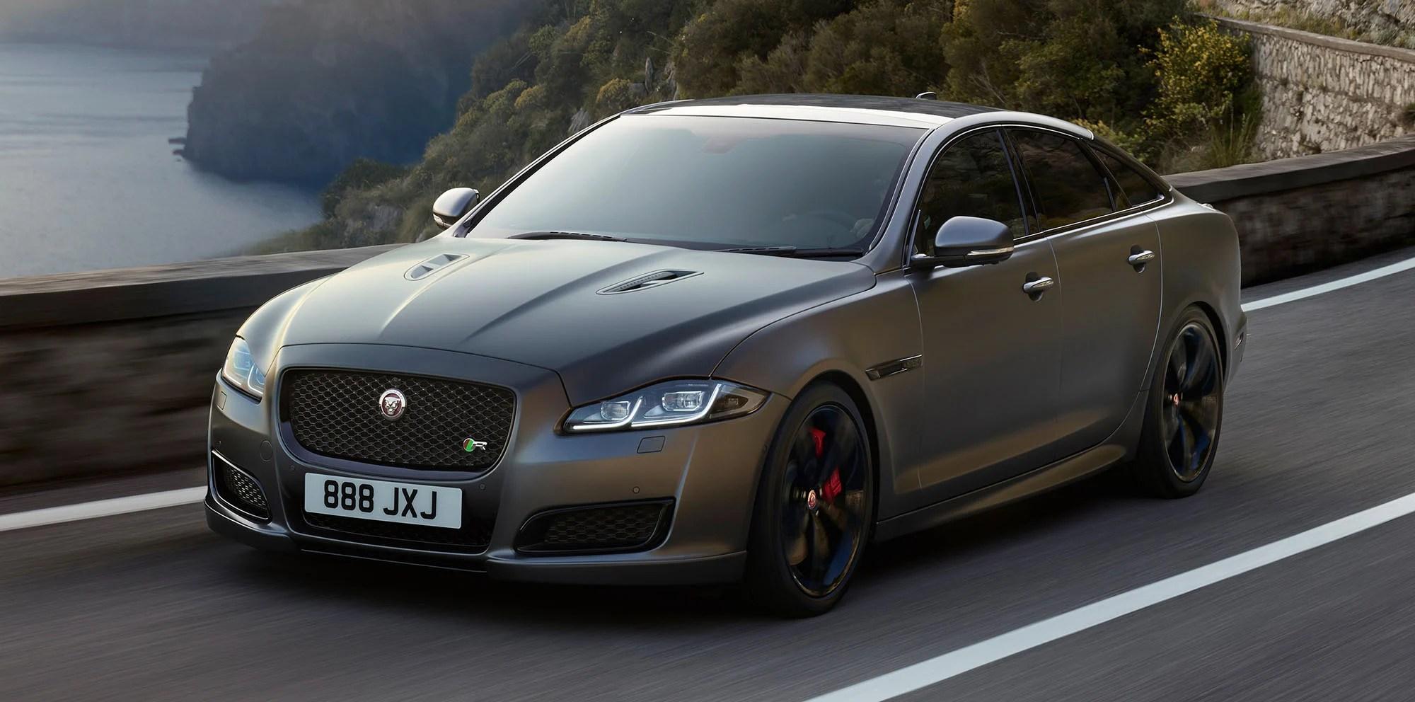 Matte Black Luxury Car Wallpaper 2018 Jaguar Xjr575 Headlines Updated Range Australian