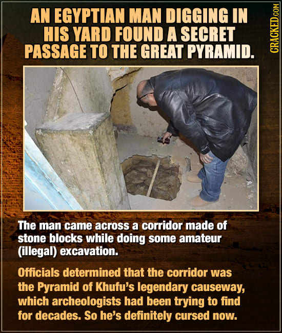 Huge Things Discovered By Total Randos