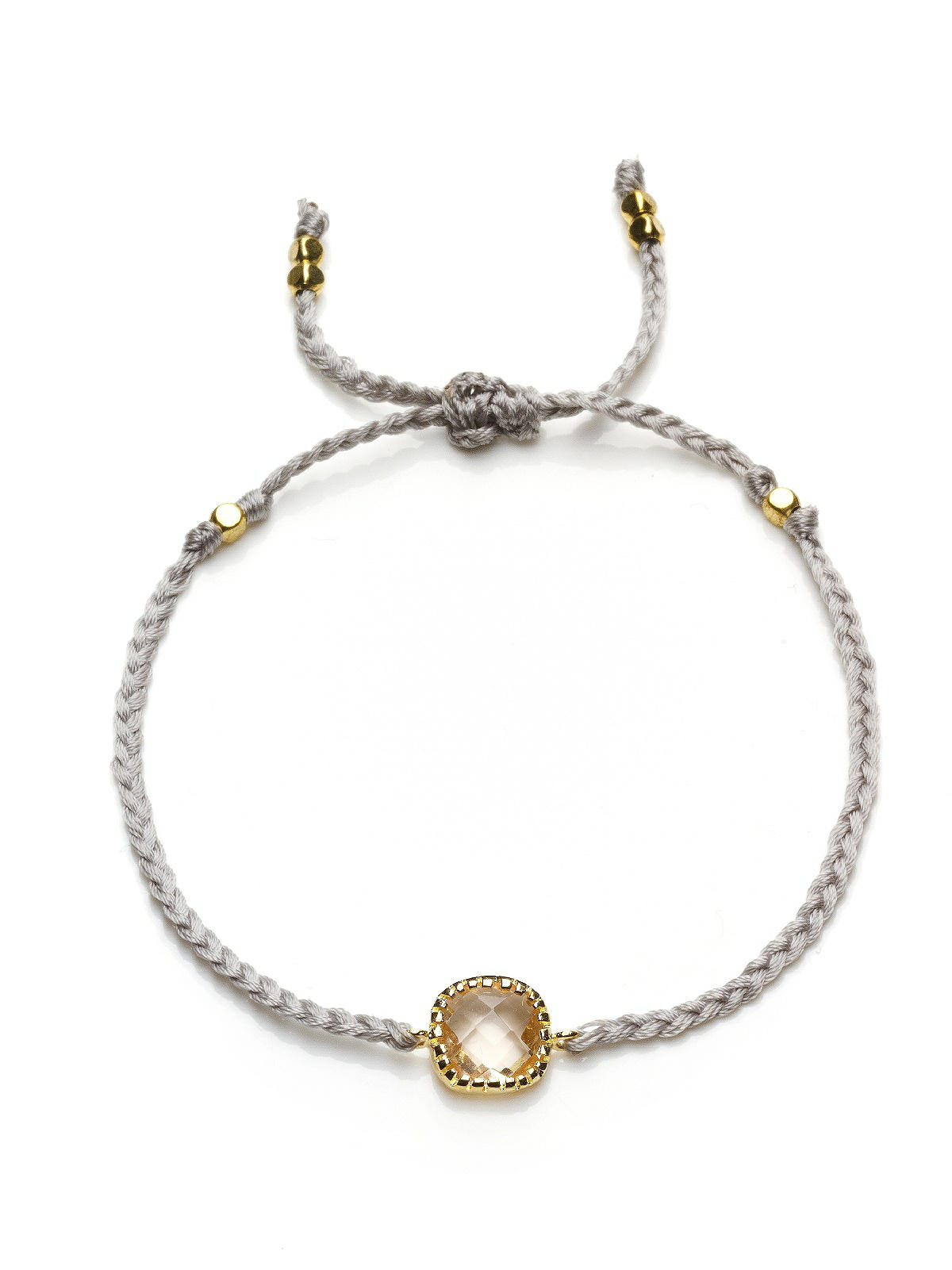 Friendship Bracelet with Stone Detail: The Dessy Group