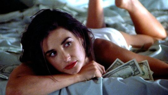 Image result for indecent proposal demi moore and woody harrelson