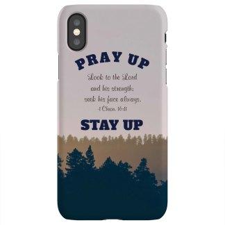 PRAY UP iPhone X Case