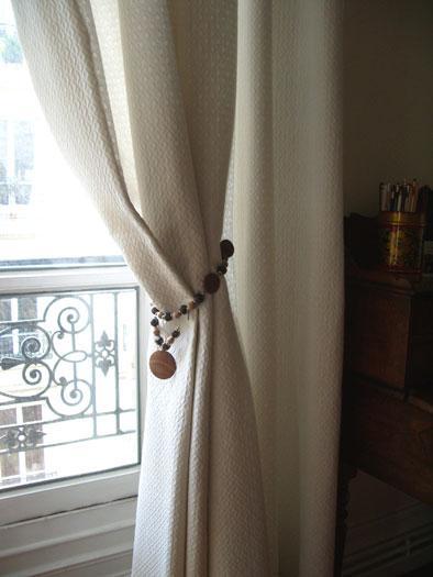 Accessoire Double Rideaux