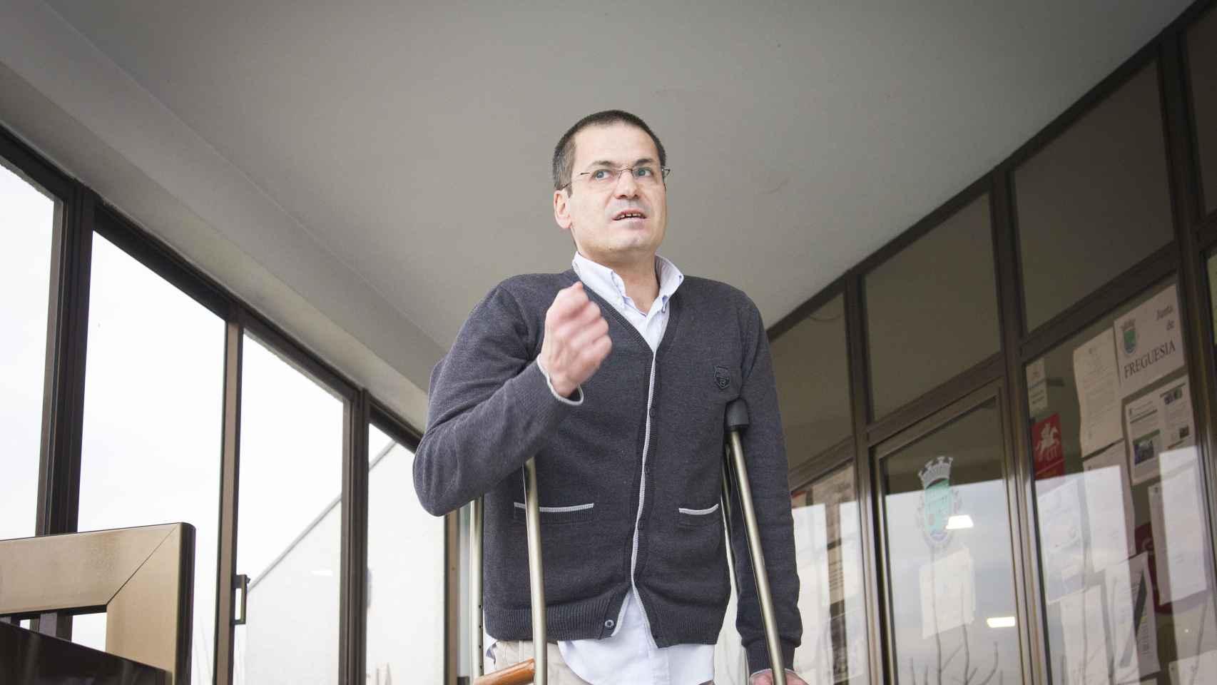 Raul Peixoto, presidente de la Junta Municipal de Serzedelo.