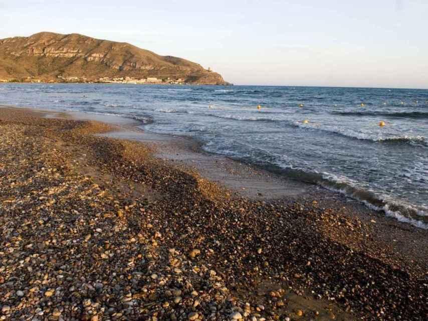 Playa San Ginés, en el municipio de Cartagena.