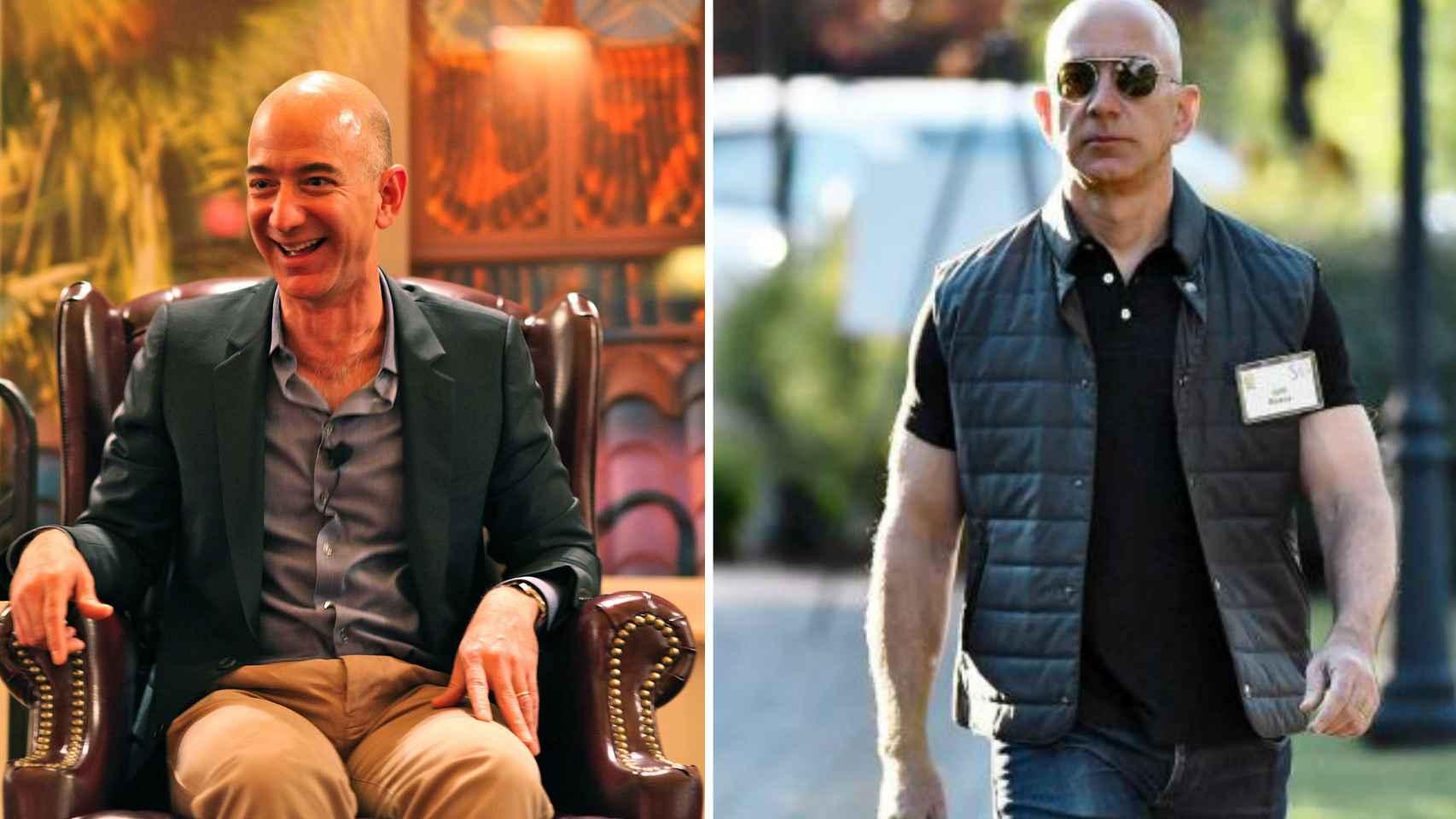 El doble cambio de Jeff Bezos el ms rico y el ms cachas