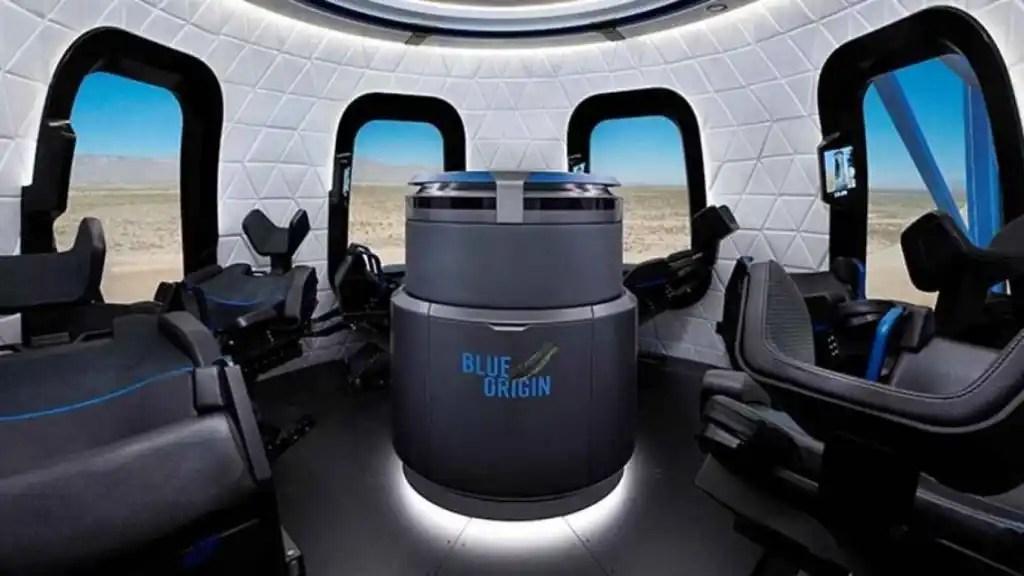 Cápsula de Blue Origin