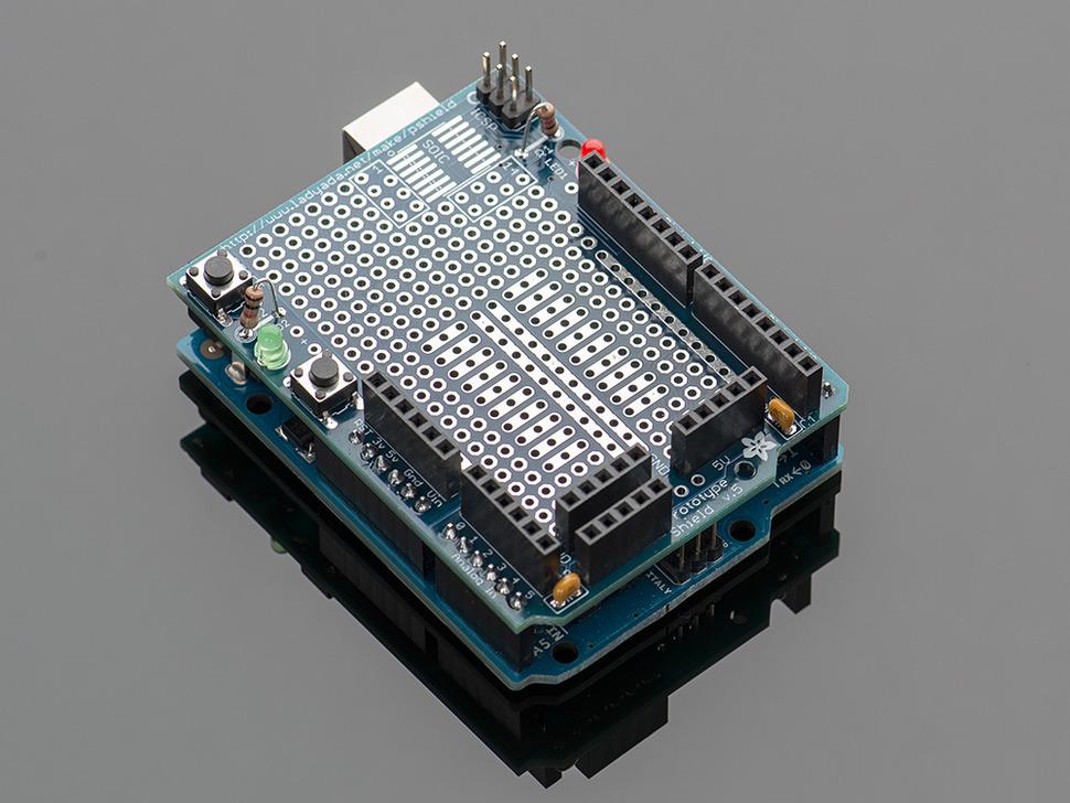 Arduino Protoshield PCB [Design]