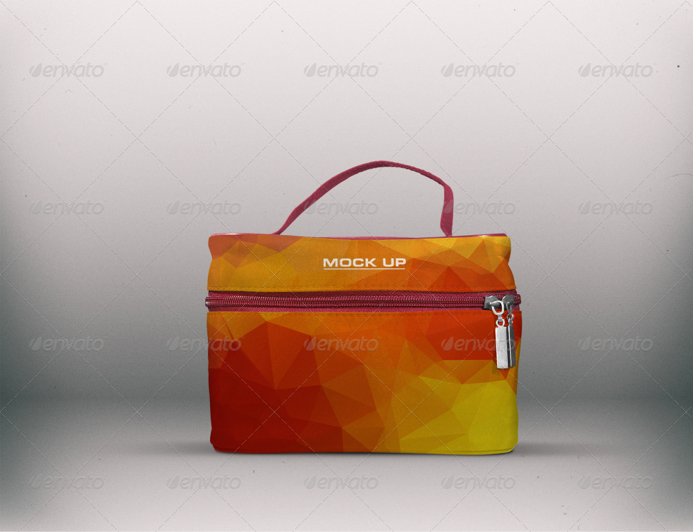 Which provides a maximum focus on your pattern designs. Mockup Cosmetic Bag