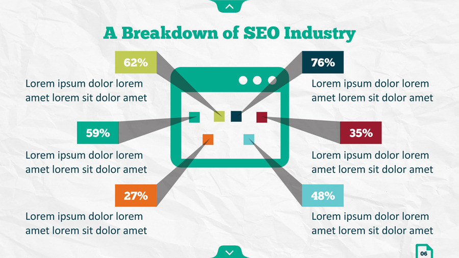 Infographic SEO Keynote Template By Kh2838 GraphicRiver   Industry Analysis  Template  Industry Analysis Template