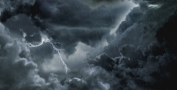 Falling Stars Grunge Wallpaper Dark Clouds And Lightning By Anatar Videohive