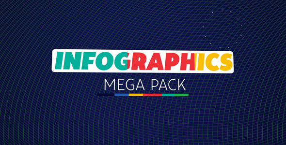 Infographics Mega Pack - videohive.net Item for Sale