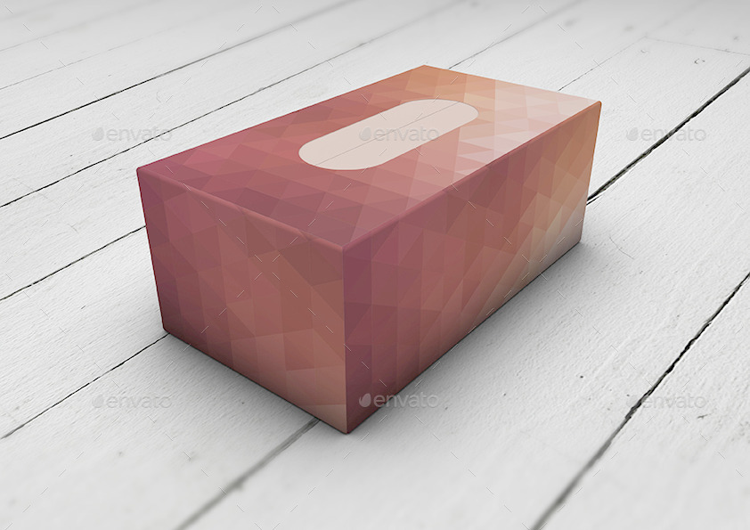 Download Tissue Box | Paper | Cardboard Box Mock-Up by Mock-Up ...