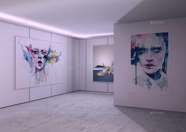 Modern Interior Art Mock- Mock-militia