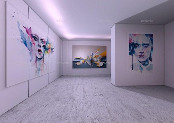 Modern Interior Art Mock- Mock