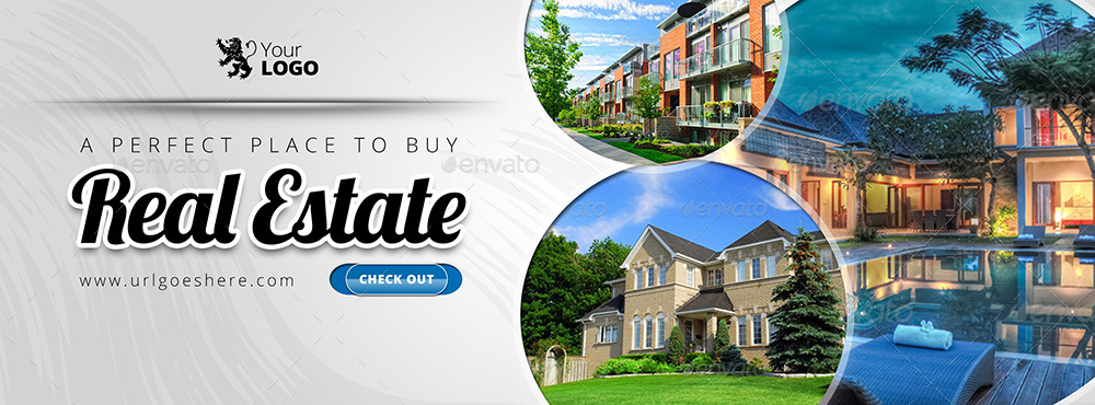 10 in 1 Real Estate Facebook Covers Collection by Belegija  GraphicRiver