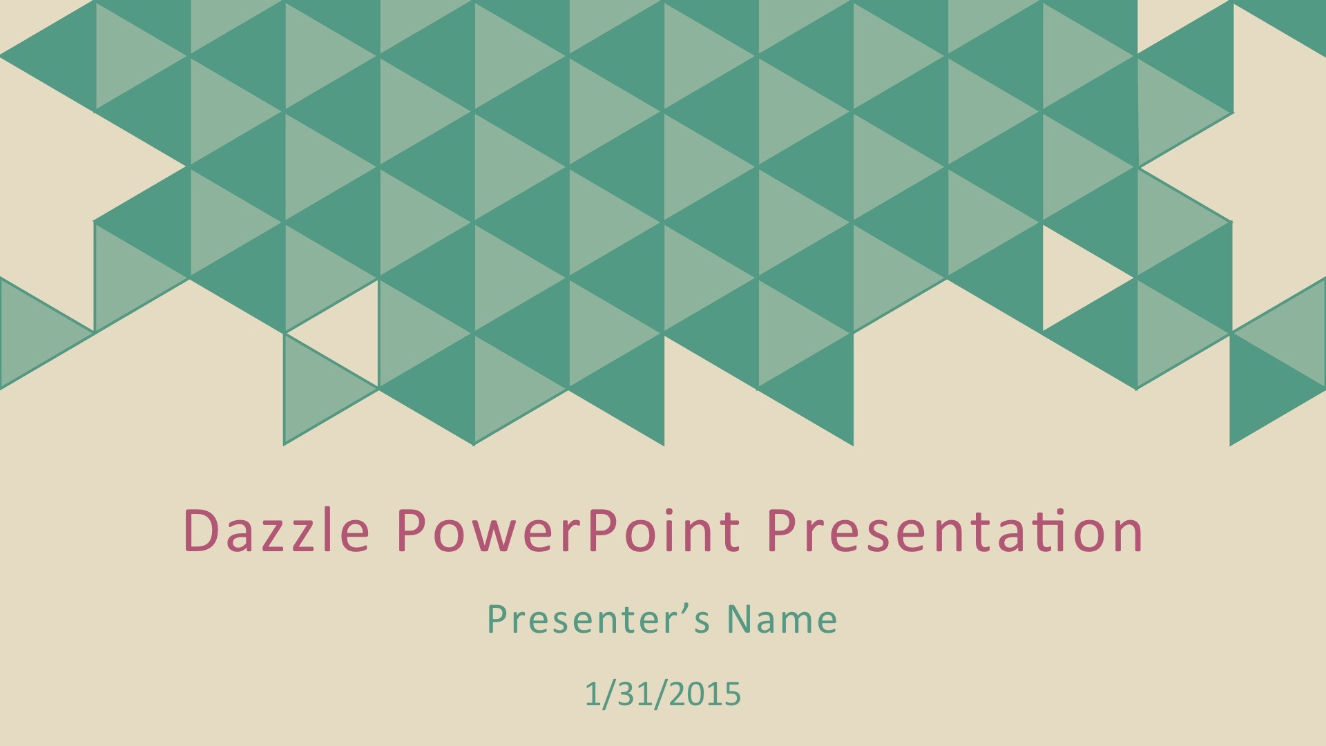 Dazzle Multipurpose Powerpoint Template By Crystalw