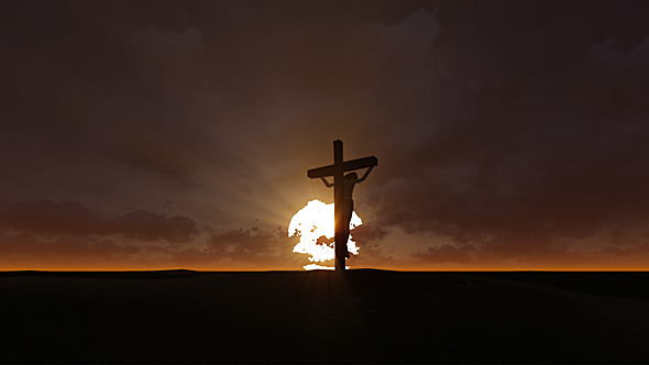 the risen christ sunrise