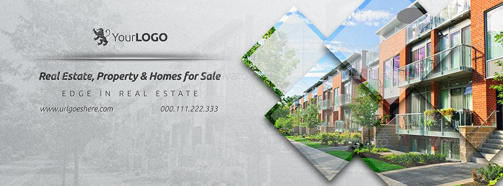 Real Estate Facebook Covers 3 by Belegija  GraphicRiver