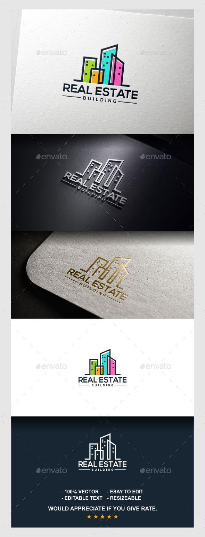Real Estate Logo - Buildings Logo Templates