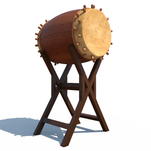 Bedug Traditional Drum Percussion by backdoorcreative