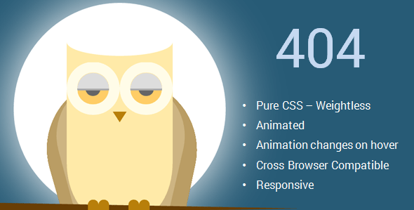 cute pure css animated