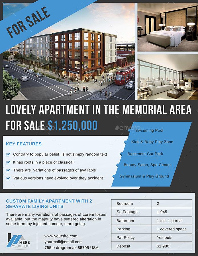 apartment rental flyers