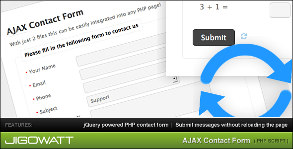 TF Bestsellers: Simple PHP and Ajax Contact Forms for Any Use - Uncategorized