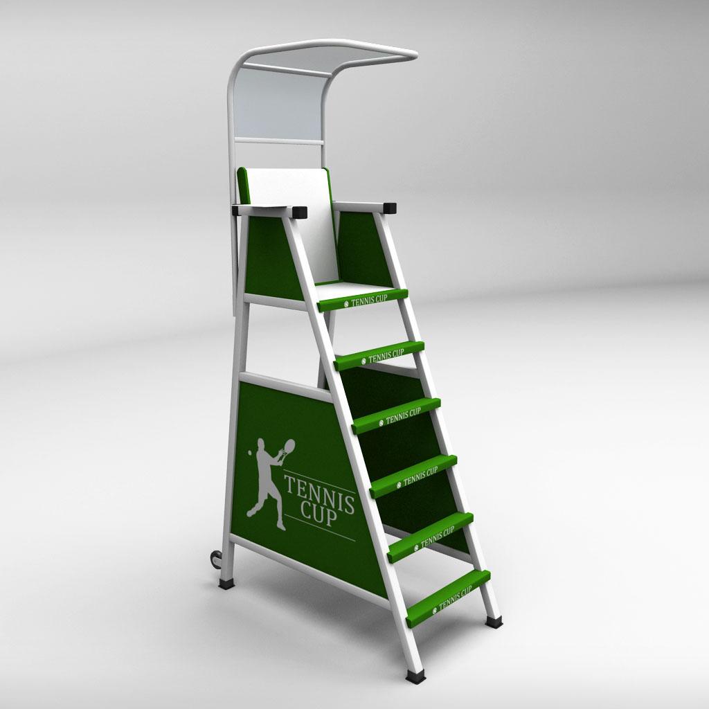 tennis umpire chair hire eames plywood judge by kr3atura 3docean 01 jpg