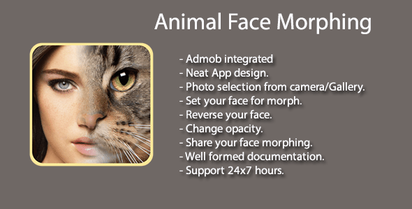 FotoMix - Animal Face Morphing