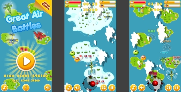 Traffic Command - HTML5 Game + Mobile Version! (Building 3 | Construction 2 | Capx) - 60