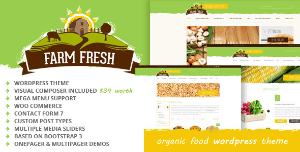 farm fresh organic products