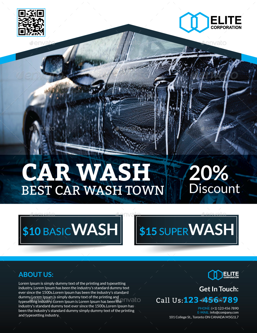 Car Detailing Flyers