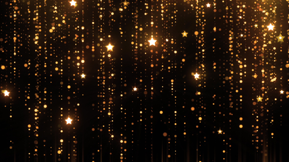 Animated Snow Falling Wallpaper Free Download Christmas Golden Particles Star New Year By Hk Graphic
