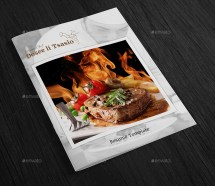 Chef Resume Template 12 Page Booklet Designgenisys
