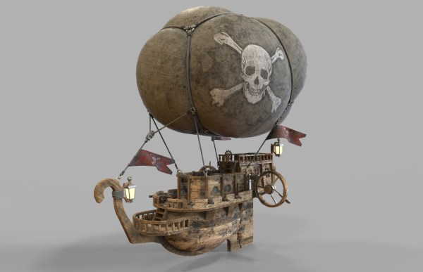 Airship Pirates Vladim00719 3docean