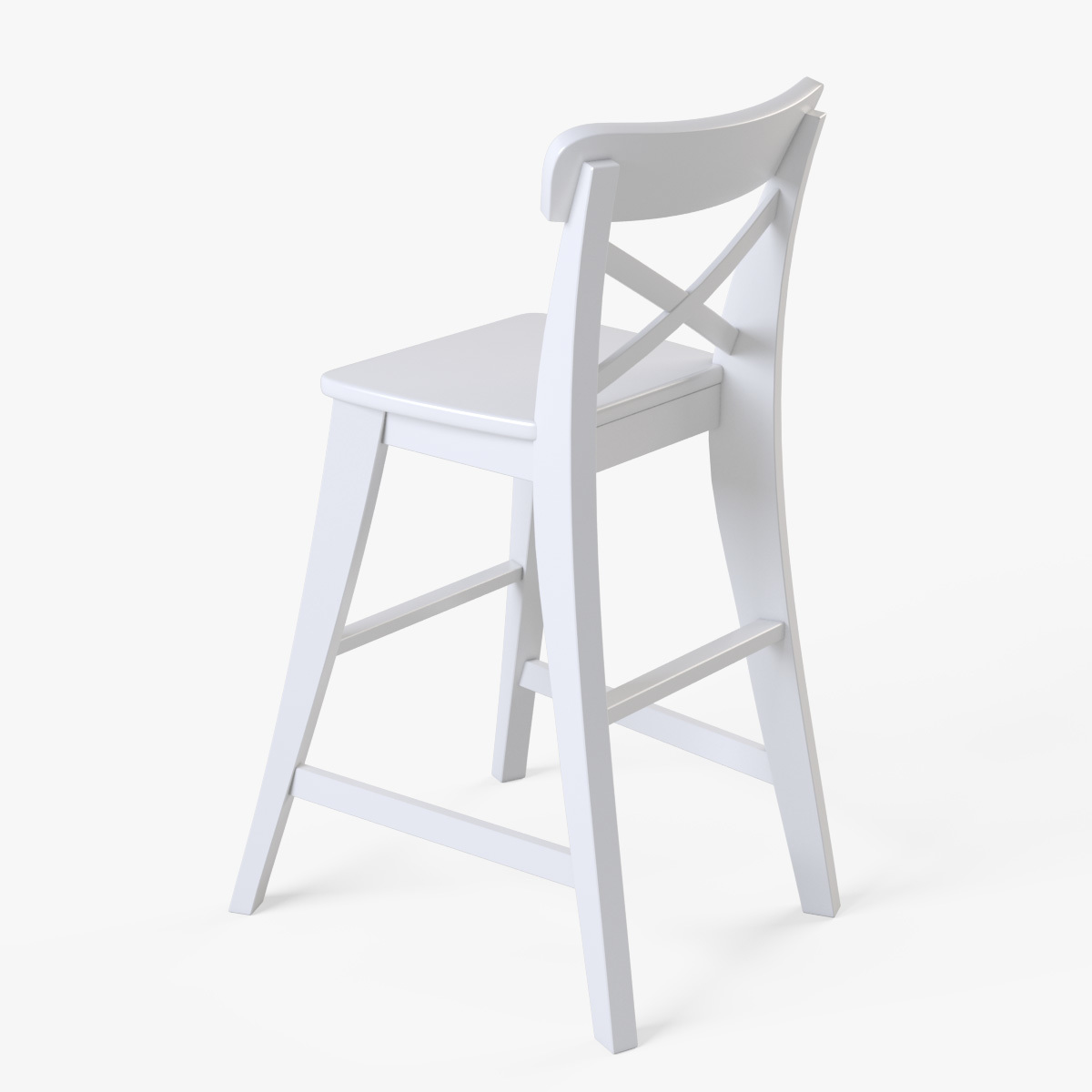 ikea junior chair chairs sitting area crossword ingolf white by markelos 3docean