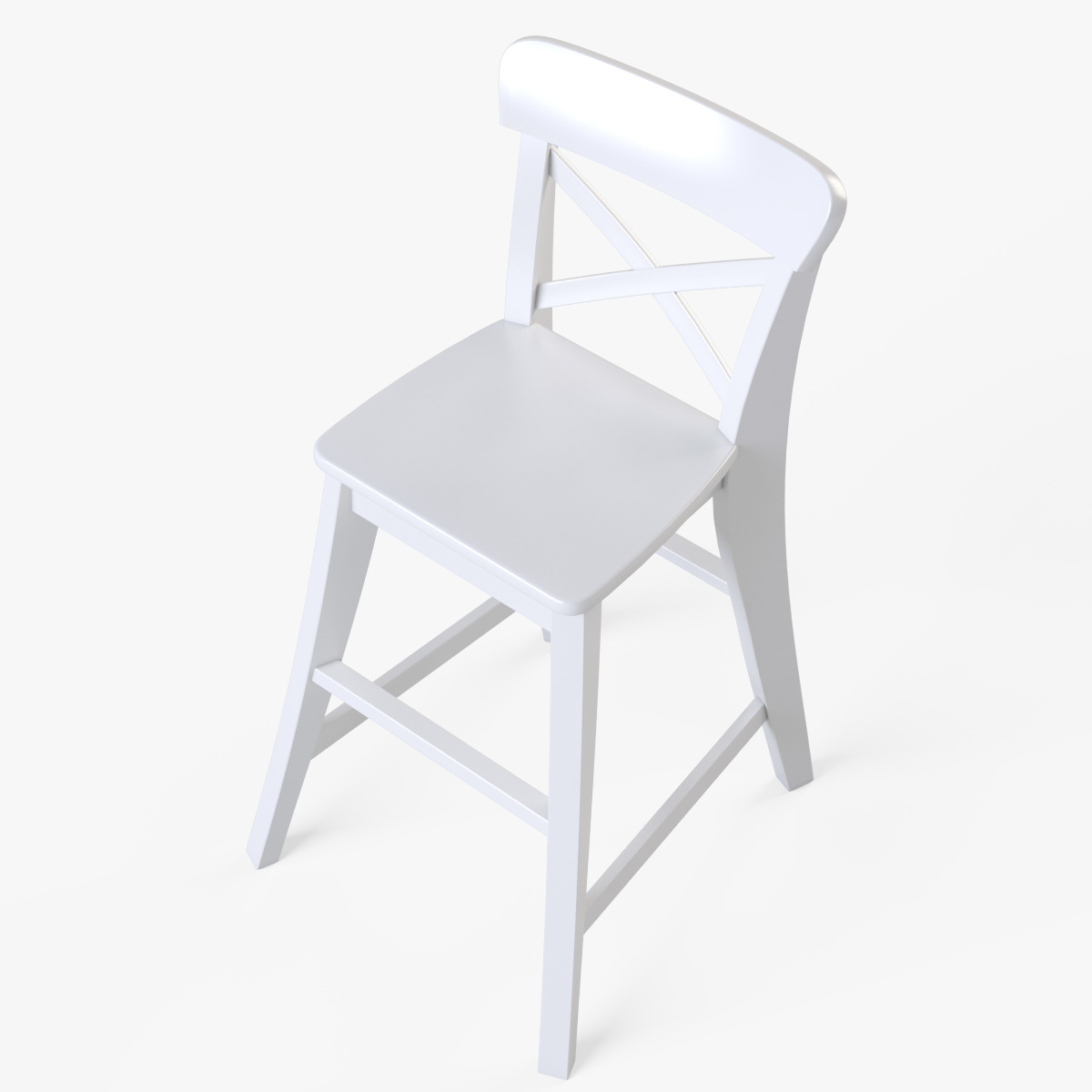 ikea junior chair outdoor bar ingolf white by markelos 3docean