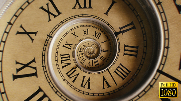 Clock Infinity Spiral by LimeTime  VideoHive