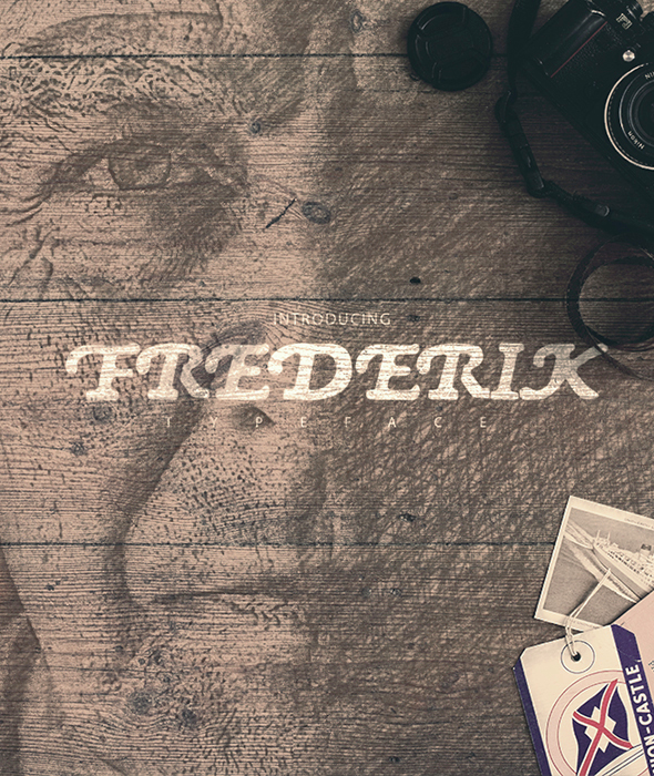 Free Font My name is Fredereik Download