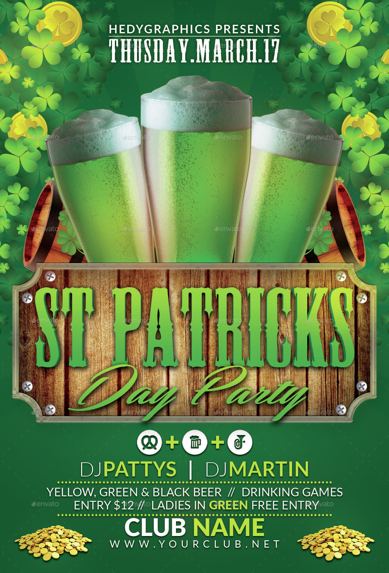 St Patrick Day Party