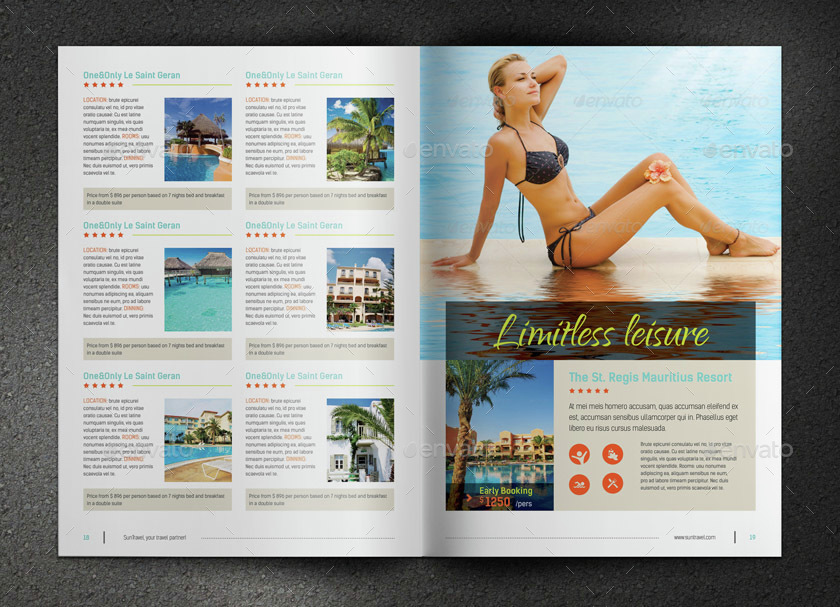 Travel Brochure By Sabin Vp GraphicRiver