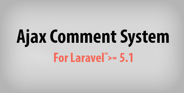Ajax Comment System for Laravel version null