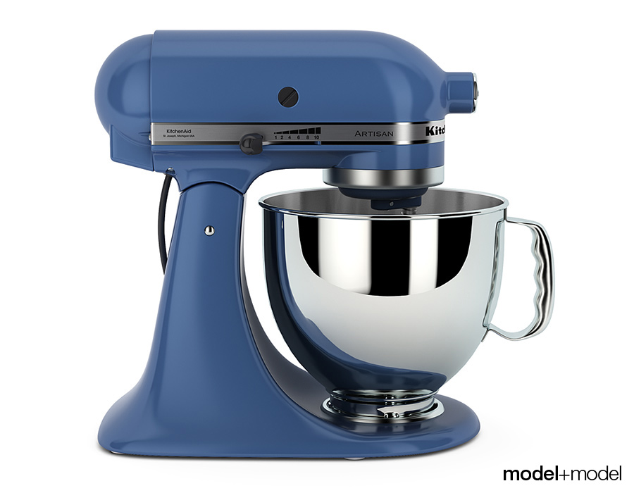 Stand Mixer KitchenAid Artisan By Modelplusmodel 3DOcean
